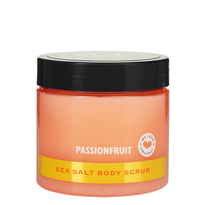Sea Salt Body Scrub, Passionfruit